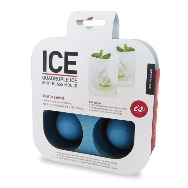 Quadruple Ice Shot Glass Mould