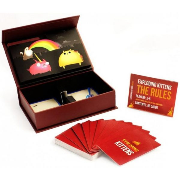 Exploding Kittens First Edition Meow Box Card Game