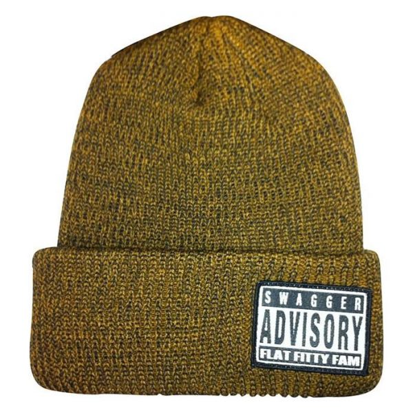 Flat Fitty | SWAGGER Beanie