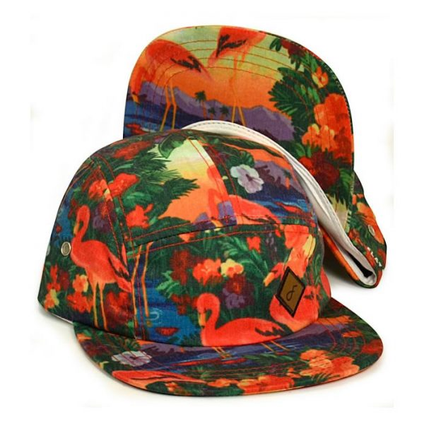 Flat Fitty | Tropical 5 Panel