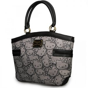 Hello Kitty Aov Print Jaquard Tote