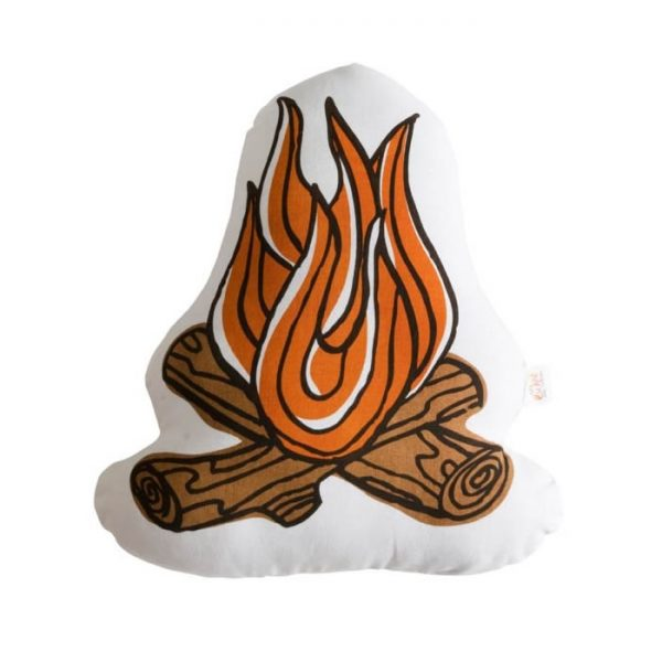 Camp Fire Play Cushion