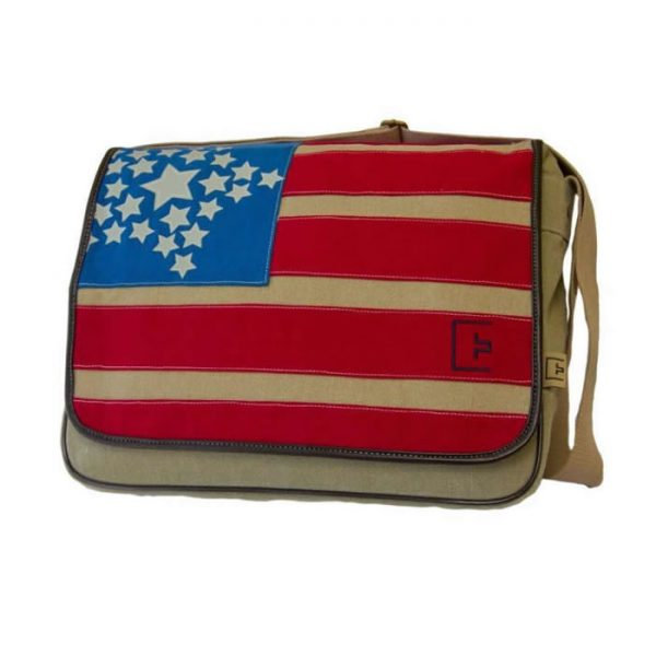 Stars and Stripes Messenger Bag
