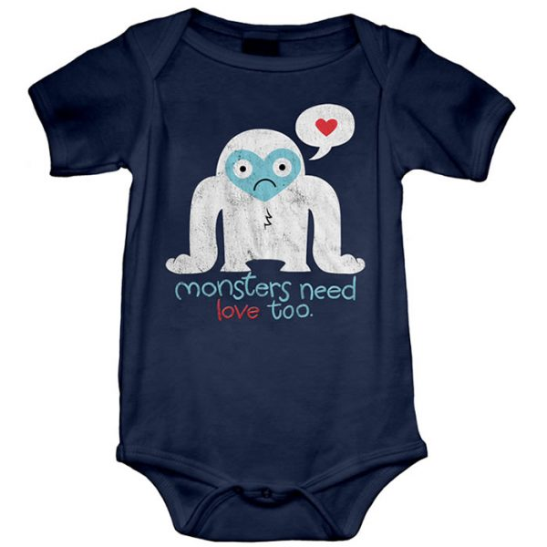 Monsters need love too Onesie