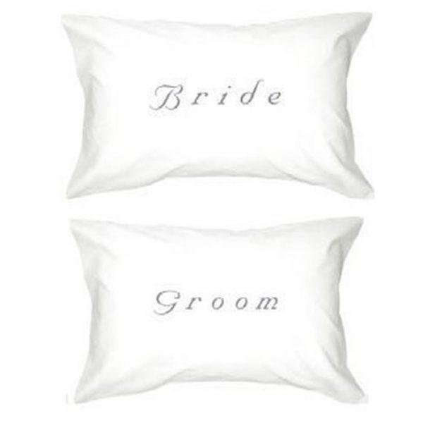 Bride & Groom Pillowcases