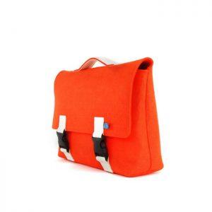 Kel Briefcase Satchel Tangerine