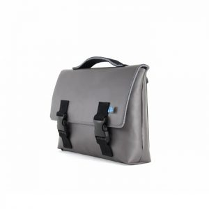Kel Briefcase Satchel Grey