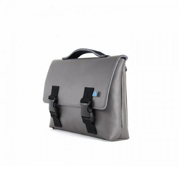 Kel Briefcase Satchel Grey
