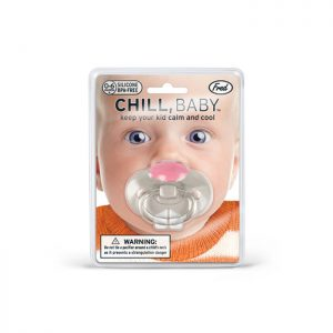 CHILL, BABY Bunny Pacifier