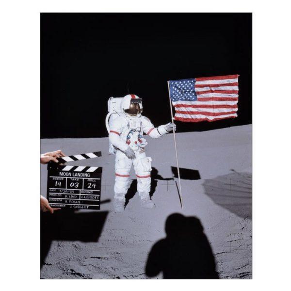 Moon Hoax Tee Shirt