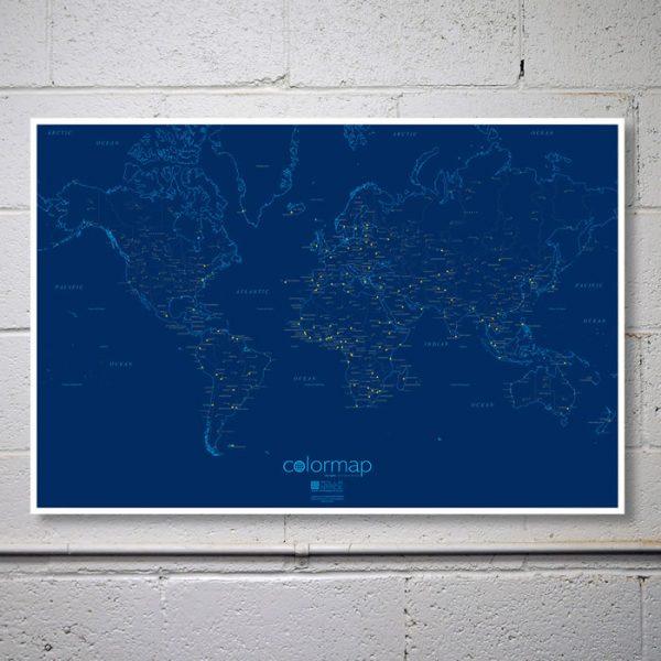 Colour Map – City Lights