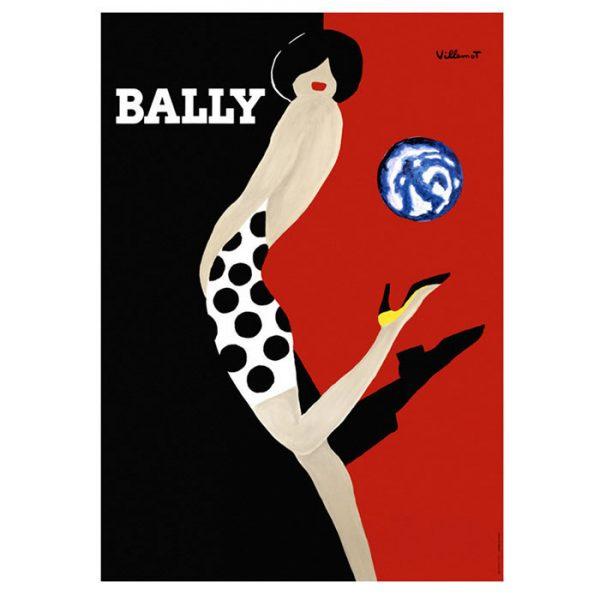 Print | Bally Globe