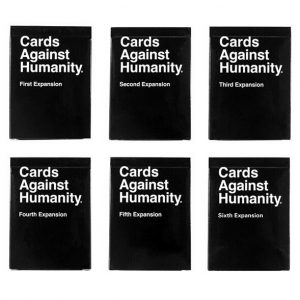 Cards Against Humanity Expansions pack (6)