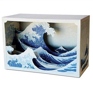 Paper Diorama Kit Great Wave Tatebanko