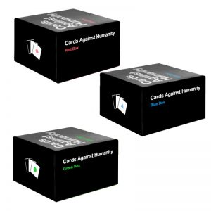 Cards Against Humanity BLUE RED GREEN Boxes Expansions
