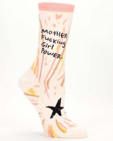M.F Girl Power Socks