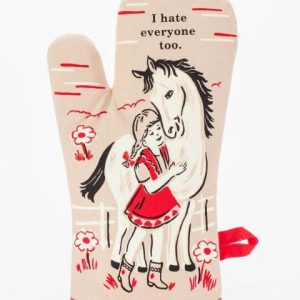 I Hate Everyone Too Oven Mitt