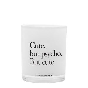 CUTE BUT PSYCHO - LRG CANDLE