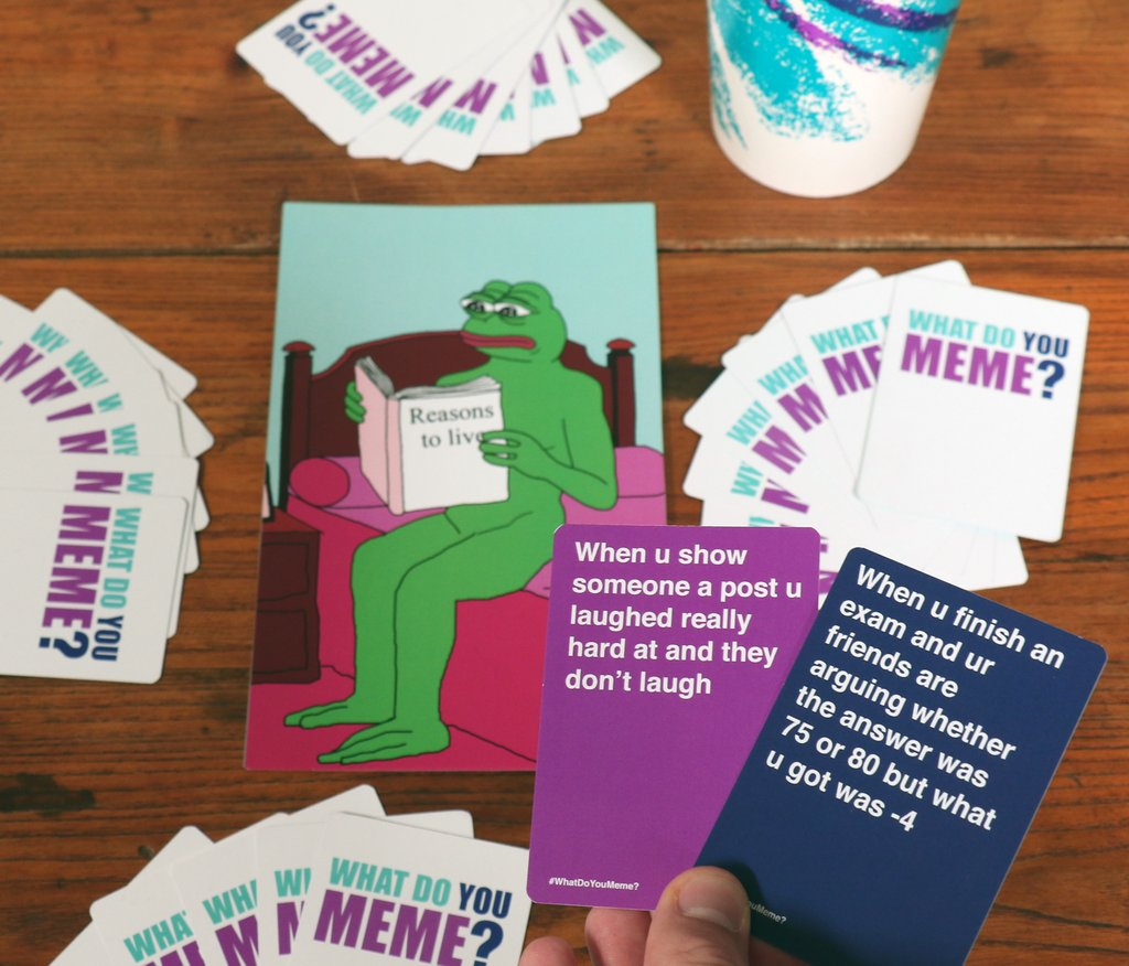 What Do You Meme Card Game 6 what do you meme? game is 2017's cards against humanity
