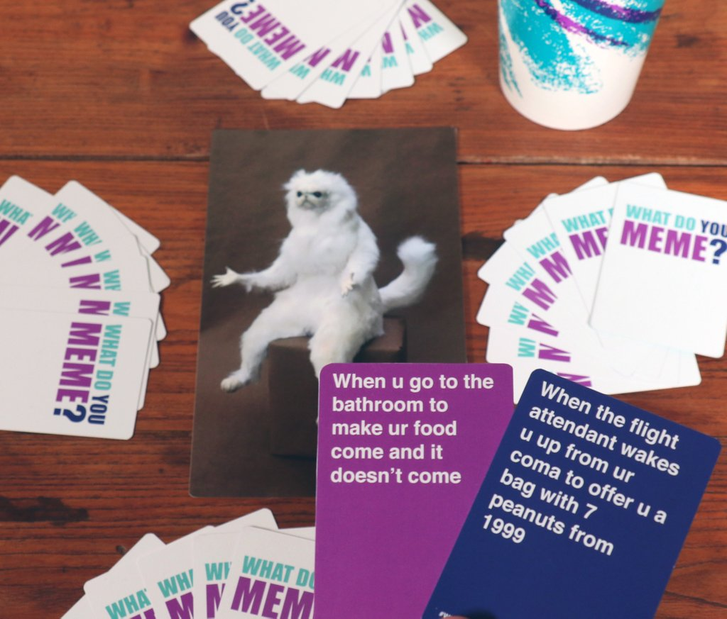 What Do You Meme Card Game what do you meme? game is 2017's cards against humanity