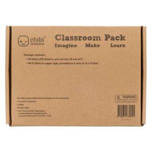 Chibitronics Classroom Pack LED Circuit Stickers – White