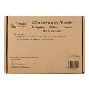 Chibitronics Classroom Pack – RYB Coloured Lights