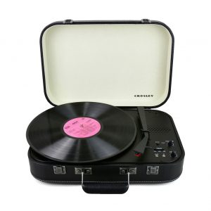 Crosley Coupe – Bluetooth Turntable with Pitch control – Black