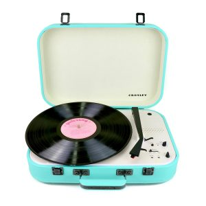 Crosley Coupe – Bluetooth Turntable with Pitch control – Teal