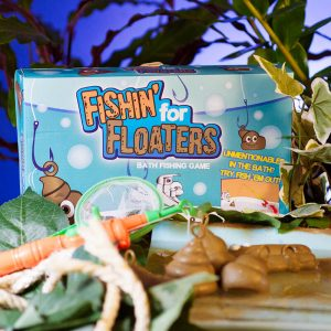 Fishing for floaters bath game