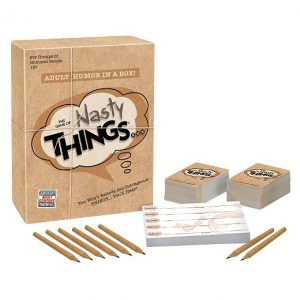 The Game of Nasty Things Board Game