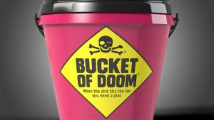 Bucket of Doom - The death-dodging party game