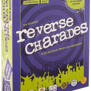 Reverse Charades Board Game – Fun & Hilarious Family Games – For All Ages – Perfect for Parties and Gatherings