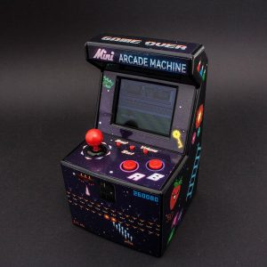 mini arcade machine thumbs up