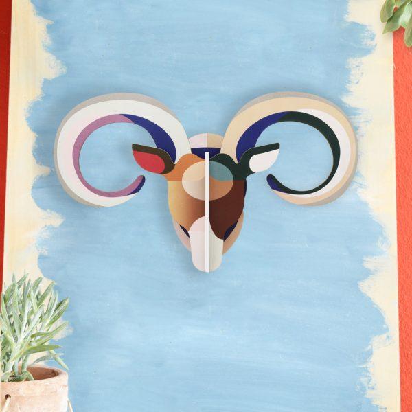 Mouflon Head – Wall Decoration