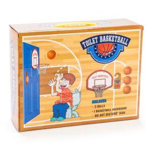 Toilet Bathroom Basketball Set Game Potty