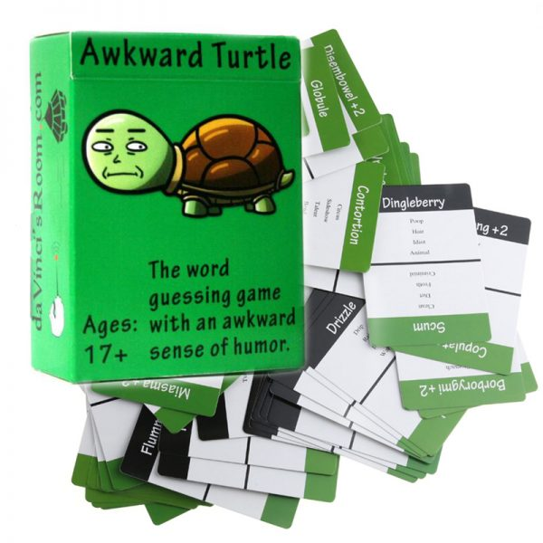 Awkward Turtle – The Adult Party Game with a Crude Sense of Humor