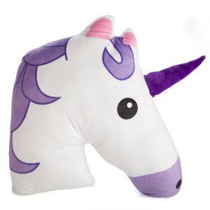 Purple Unicorn Plush Cushion