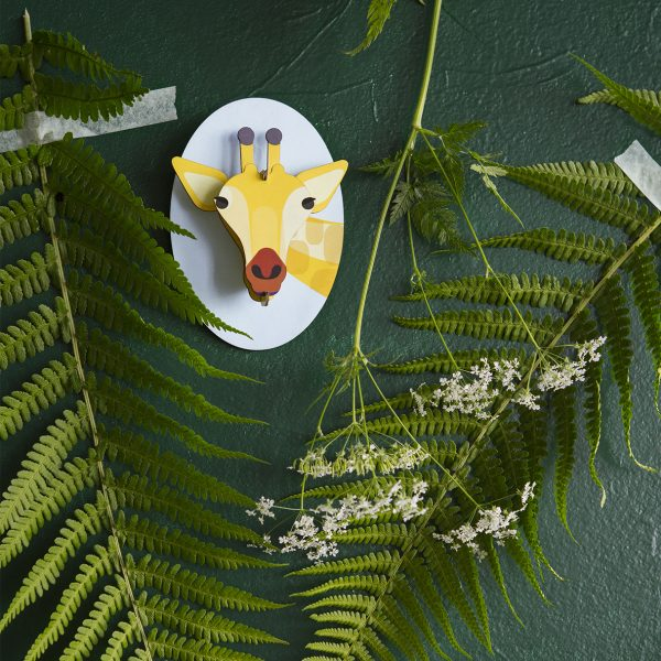 Little Friends, Giraffe – Wall Decoration