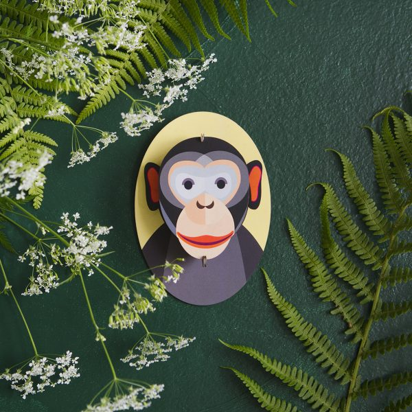 Little Friends, Monkey – Wall Decoration