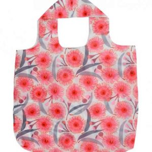 Shopping Tote - Pink Gum Blossom