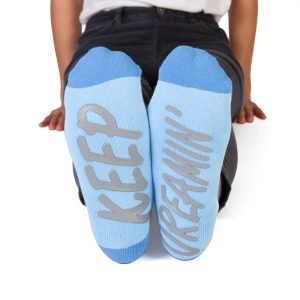 Feet Speak KEEP DREAMIN Cloud Socks