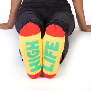 Feet Speak HIGH LIFE Socks