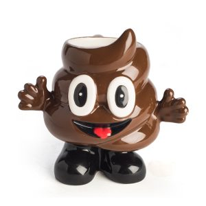 Smiling Poo Koolface Mug