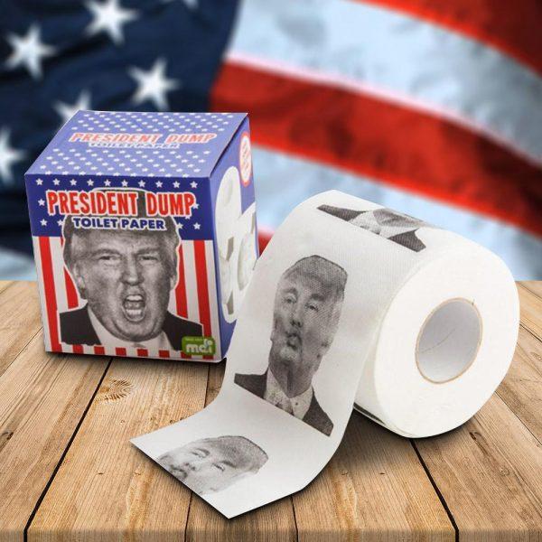 Donald Dump Toilet Paper