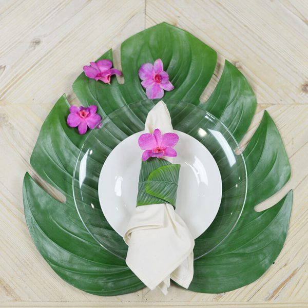 Monstera Tropical Leaf Placemat