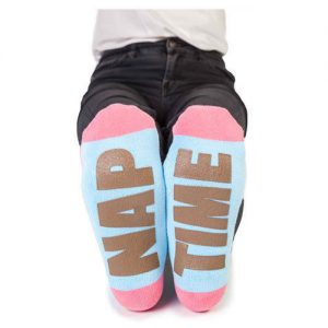 FLAMINGO New Novelty Perfect Gift Great Soles Message Feet Speak Socks