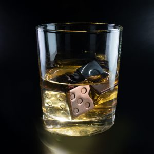 Whiskey Dice - True on the rocks taste.