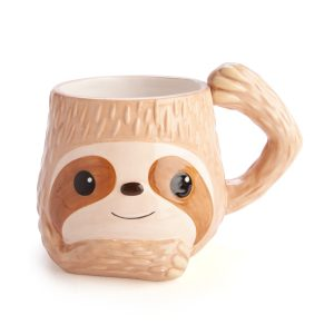 Happy Sloth 3D Mug