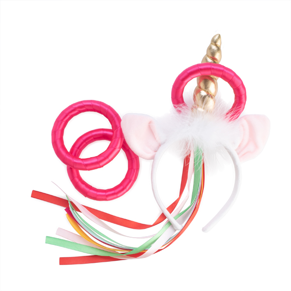 Unicorn Horn Headband Hoopla Ring