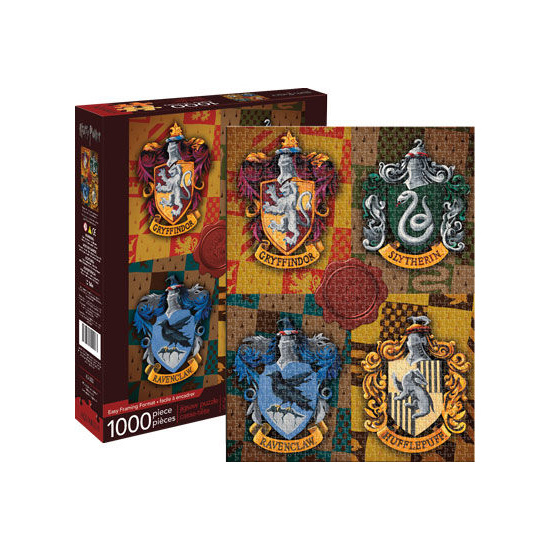 Harry Potter – Crests 1000pc Puzzle